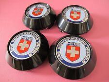 68mm Bk Back Clip 62mm Car Wheel Center HUB Caps Flat Badge EMBLEM W/Color HRE