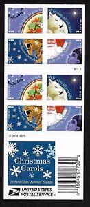 #5247-5250 Christmas 2017- Christmas Carols - Forever - 2017 MNH Bkt Pane of 20