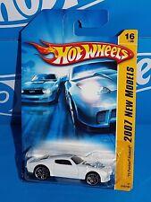 Hot Wheels 2007 New Models Series #016 '70 Pontiac Firebird White w/ SCUM BUM