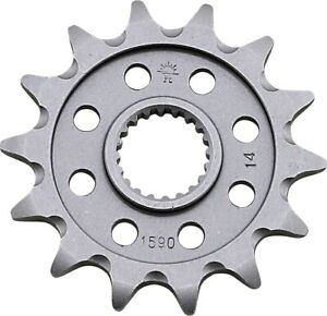 Lightweight Self-Cleaning Front Countershaft Sprocket - 14 Tooth JTF1590.14SC