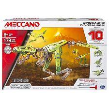 NEW Meccano, 10 Model Set, Dinosaurs