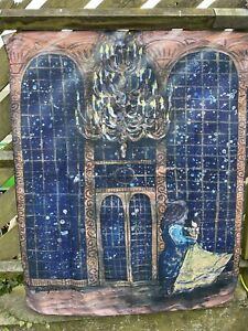 Beauty And The Beast Wall Hanging/Throw (FAIRY LOOT) x 6 job lot