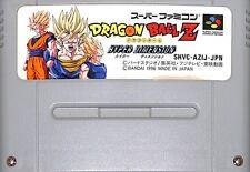 DRAGON BALL Z HYPER DIMENSION Nintendo Super Famicom SFC Japan Import SNES Used