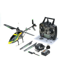 WLtoys V912 4CH Brushed Single Blade RC Helicopter + Gyro Head Lamp Light O6J1