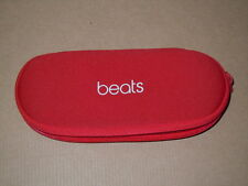 Zipped Soft Oval Carrying Case - for Beats PILL 2.0 RED Speaker by Dr. Dre