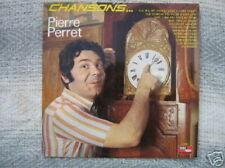 PIERRE PERRET 33 TOURS FRANCE CHANSONS