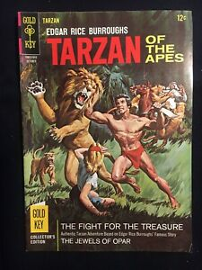 Edgar Rice Burroughs' Tarzan of the Apes #161 (Oct 1966, Gold Key)