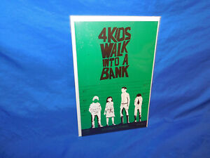 4 Kids Walk Into A Bank #1 Green Variant CBSI Limited to 100 NM