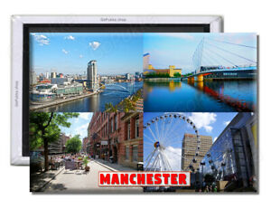 Manchester England UK - Souvenir Fridge Magnet