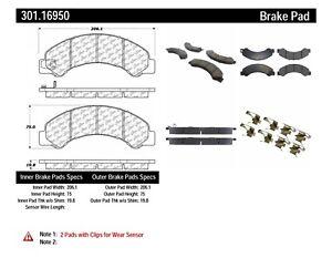 Disc Brake Pad Set fits 2012-2017 Hino 155  CENTRIC PARTS
