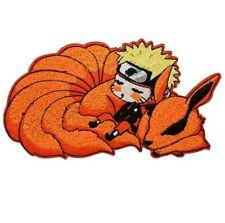 1 Écusson Brodé Thermocollant NEUF ( Patch ) - Manga Naruto et Karuma 14,5 cm !