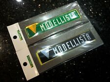 Toyota Lexus Modellista Sticker Emblem Green/Black Colour M Size 93mmx19.5mm