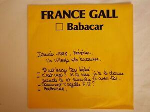 très rare 45 tours promo FRANCE GALL