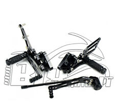 FLOORBOARDS LAGGING BEHIND ADJUSTABLE CNC SUZUKI GSXR 600/750 06 07 08 09 10 IN