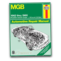 Haynes 66010 Repair Manual MGB 62-80 Roadster GT Coupe Haynes Repair Manual he