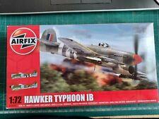 AIRFIX HAWKER TYPHOON MK.IB  1:72 SCALE MODEL KIT # A02041.