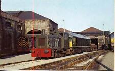 Diesel Shunter Class 04 D2304 Class 24 D5097 Gateshead Shed 1967  Postcard