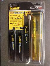 DeWALT DT99550 Juego de cuchillas de sierra reciprocante XR BIM Metal 13 piezas