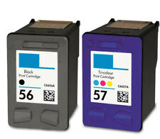 2PK For HP 56 56 57 Ink Cartridge For PSC 2410 2510 2210 2175 2110 1350 1315