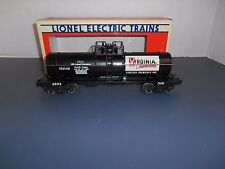 Lionel #6323 LCCA Virginia Chemicals Single Dome Tank Car Uncataloged