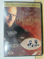 Lemony Snickets A Series of Unfortunate Events (DVD 2005, 2-Disc Set) Rating: PG
