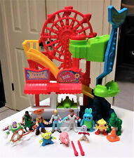 Fisher-Price Imaginext Toy Story 4 Carnival Playset Disney Pixar wtih figures