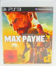 Max Payne 3 | Sony Playstation 3 PS3 | komplett OVP | sehr gut