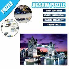 London Bridge Jigsaw Puzzle 1000 Pieces Landscape Picture Adult Kids Educational