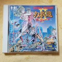 PC Engine Double Dragon II 2 SUPER CD ROM Japan Import