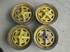 "MG Midget Rostyle 13"" inch Steel Rim OEM Wheels 4 bolts"