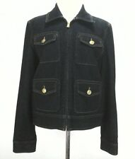 EUC $159 LAUREN RALPH LAUREN JEAN CO Womens Denim Blue Jacket Blazer Large L