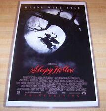 Tim Burton's Sleepy Hollow 11X17 Original Movie Poster
