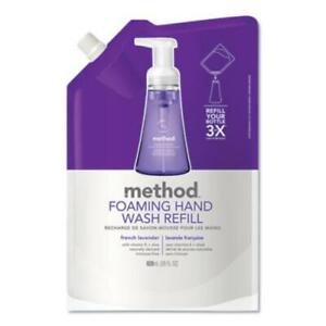 Method Products 01933EA Foaming Hand Wash Refill, French Lavender, 28 Oz