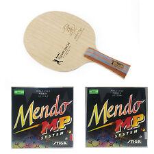 Nittaku Kasumi Special + Stiga Mendo Rubbers Table Tennis Racket Combo!