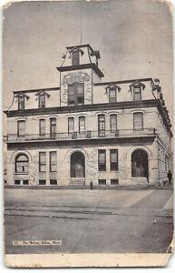 Montana-Dillon-The Metlen Hotel-RPO-Antique Postcard