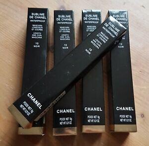 Lot de 5 ! Mascara Noir sublime n°10 Chanel longueur et courbe envoi express !