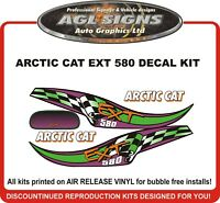 1995 Arctic Cat EXT 580 Custom Reproduction Decal Set    graphics  700 also