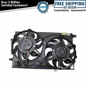 Engine Coolant Radiator Cooling Fan Assembly Direct Fit for Fiat 500 E