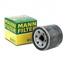 Mann-Filter Oil Filter W67/1 fits NISSAN SKYLINE CROSSOVER J50 370GT (J50)