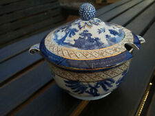 Booths Real Old Willow Sauce Tureen