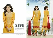 DESIGNER Pakistani Semi Stitches Dress Material,Salwar suit-divin life-23006