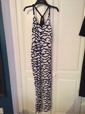 0fcb25d81fc TOPSHOP WHITE BAT ATTACK PRINT JUMPSUIT UK6 EUR34 US2