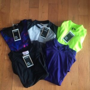 5 Giro Women's Cycling Jerseys (New road, Chrono) - Small - $250 Retail