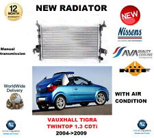 FOR VAUXHALL TIGRA TWINTOP 1.3 CDTi 2004-2009 NEW COOLING RADIATOR ** OE QUALITY