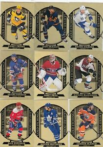 2020-21 UPPER DECK TIM HORTONS GOLD ETCHINGS COMPLETE SET of 15 CARDS