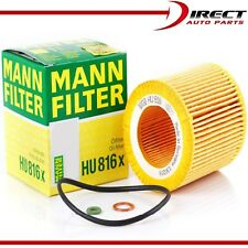 OEM ENGINE OIL FILTER GENUINE MANN FILTER HU 816 X FOR BMW OE# 11428683196