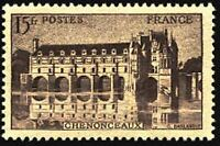 "FRANCE STAMP TIMBRE N° 610 "" CHATEAU CHENONCEAUX 15F "" NEUF xx TTB"
