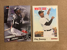 2019 TOPPS ELOY JIMENEZ Rookie RC Lot (2) Finest, Heritage - Chicago White Sox
