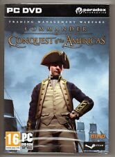 Commander Conquest of the Americas, PC Game Nitro Game DVD-ROM STOCKING STU