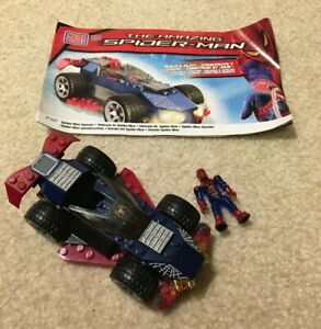 Amazing Spider-Man Speeder Mega Bloks Building Set 91337 Complete Figure Manual